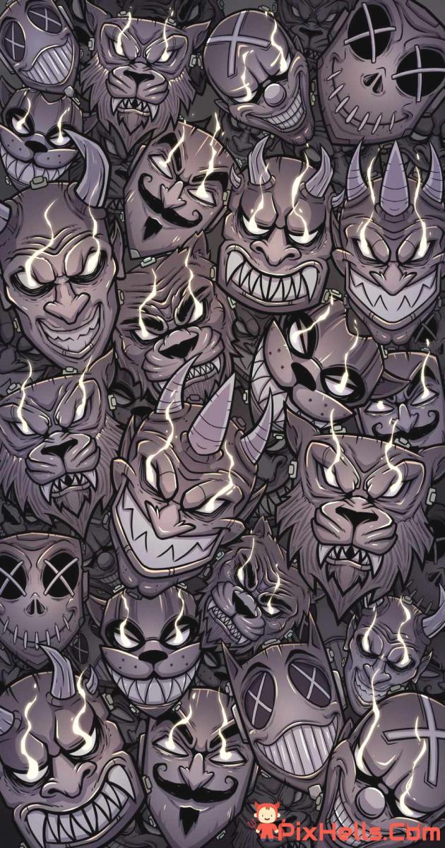 Devil Faces