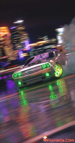 Dodge Challenger Neon